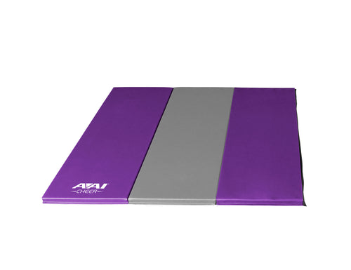 1.5 4x6 V2 Folding Mats - Purple & Grey