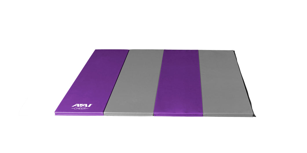 1.5 4x8 V2 Folding Mats - Purple & Grey