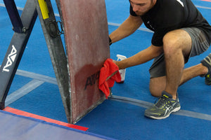 Clean your vault boards with Truce chalk remover