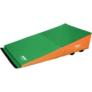 "Folding Incline 36""x72""x16"" - Orange & Green or Green & Orange"