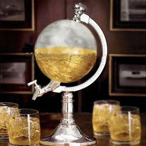 Mini Beer/Wine/Spirits Globe Dispenser
