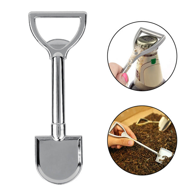 1PC Steel Shovel Beer Opener