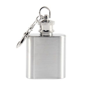 Stainless Steel 1Oz Whiskey Bottle