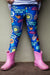 Blue Embrace Kid's Leggings