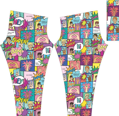 Due to COVID-19 we are waiting for pictures but they will be the same as all our women leggings