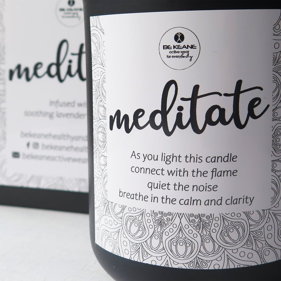 Meditate Candle