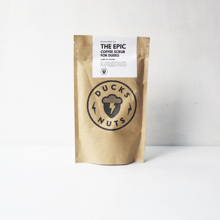 The Epic Coffee Scrub for Dudes