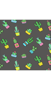 Cactus design leggings