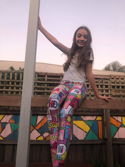 Kindness is Power Kid's Leggings