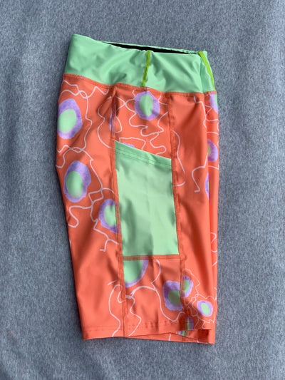 PRE ORDER Swiggle Flowers Orange and Lime