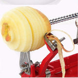 New 3 In 1 Apple Peeler and Fruit Slicer, No more cut or scraped fingers. It's Actually fun and Fast