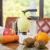 New Arrival!! Electric Potato and Fruit Peeler, Vegetable Peeler, Potato Peeler With Spare Blades as gift