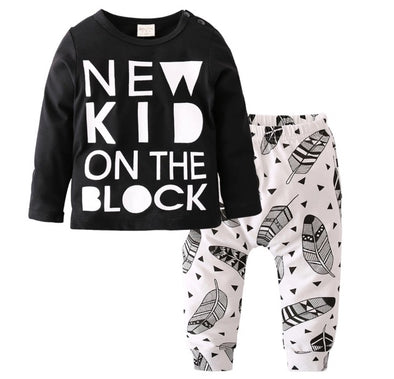 New Kid On The Block Long Sleeve T-shirt & Leggings