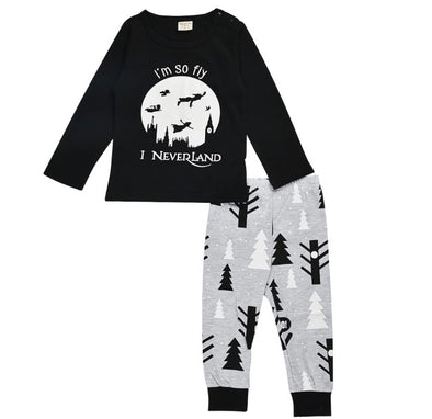 """I'm So Fly I Neverland"" Long Sleeve T-shirt & Leggings"