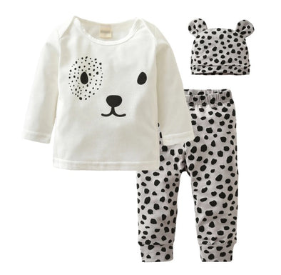 Dalmatian Long Sleeve 3 Piece Outfit