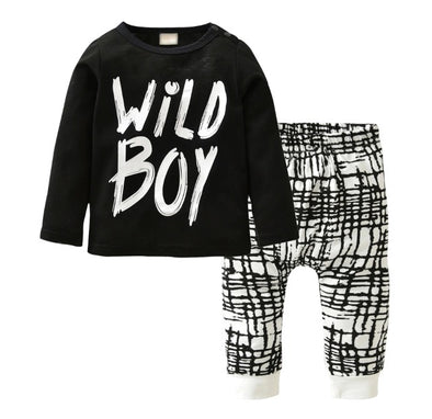 """Wild Boy""Long Sleeve T-shirt & Leggings"