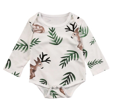 """Bambi Fawn"" Long Sleeve Onesie"