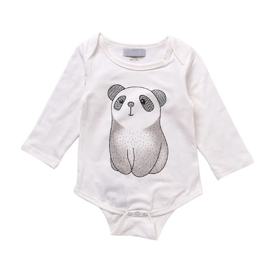 Panda Long Sleeve Onesie