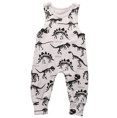 Dinosaur Sleeveless Jumpsuit