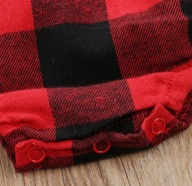 bc3b676c6b Buffalo Plaid Long Sleeve Onesie – Wisemom Baby Boutique