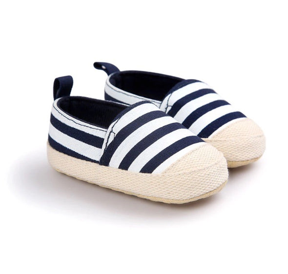 Canvas Striped Baby Shoe