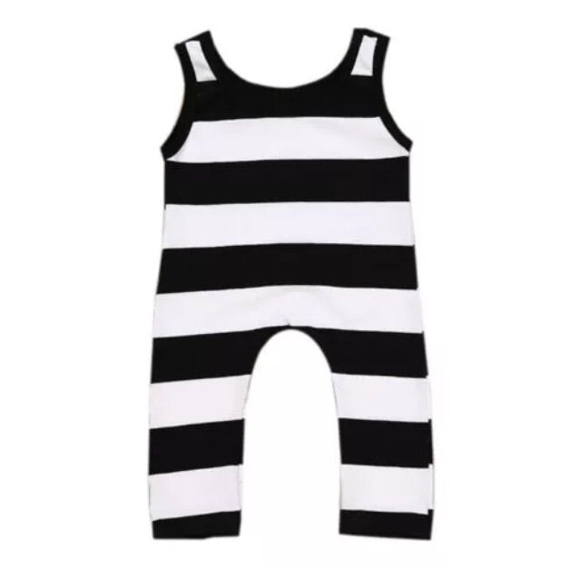 66a013af6d5a Black   White Stripe Sleeveless Jumpsuit – Wisemom Baby Boutique