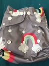 Waterproof Cloth Diaper Cover With Adjustable Snaps