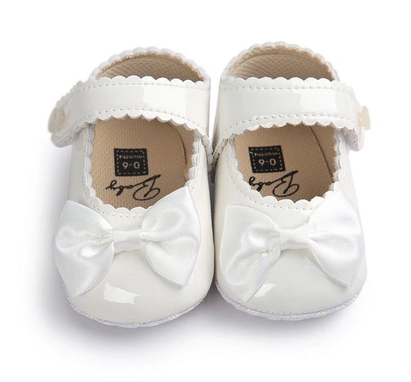 Patent Leather Princess Baby Shoes