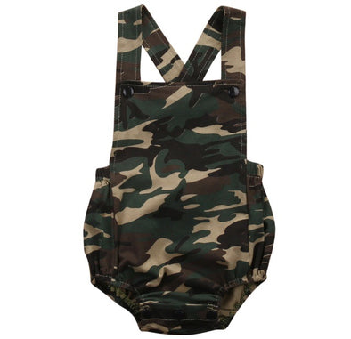 Camo Sleeveless Romper