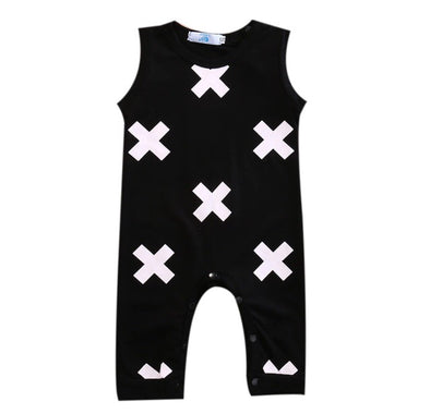 Crosses Sleeveless Jumpsuit