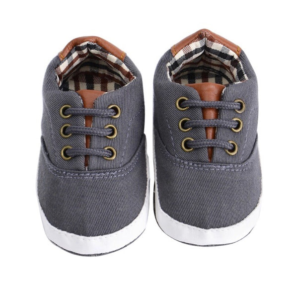 Canvas Lace Up Baby Shoe