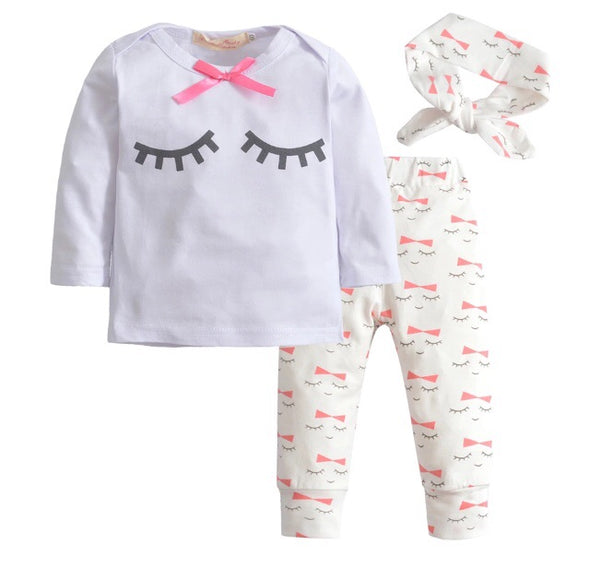 Lashes Long Sleeve 3 Piece Outfit