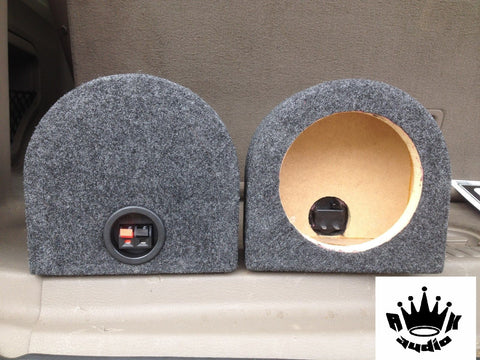 "Morel Supreme SCW-636 6"" Speaker Box Enclosure 6 1/2"" Car Speaker Coaxial Box 5.52"" Inside Diameter"