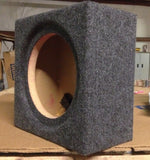 "10"" Speaker Subwoofer Box Enclosure Flushmount .55 cuft Box 9.25 Inside Diameter"