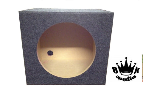 "12"" JL AUDIO 12TW3-D4 Speaker Box Subwoofer Enclosure 0.8 cuft Sealed 3/4"" MDF"
