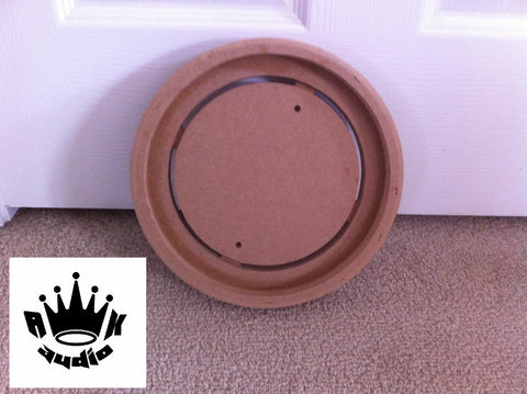 "10"" FIBERGLASS SPEAKER RING SUBWOOFER RINGS 3/4"" MDF DIY FIBERGLASS BOX RING"