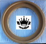 "10"" JL AUDIO W7 FIBERGLASS SPEAKER SUBWOOFER RINGS 1"" MDF SUBWOOFER BOX RING"