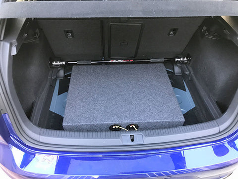 "2012 - 2016 Volkswagon Golf VW Subwoofer Box Enclosure Car Speaker 10"" 12"" Subs"