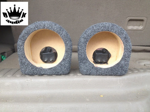 "3.5"" Speaker Box Enclosure 3 1/2"" Car Speaker Box Coaxial 3.25"" Inside Diameter"