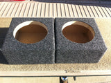 "5.25"" Speaker Box Enclosure 5 1/4"" Car Speaker Coaxial Box 4.75"" Inside Diameter"
