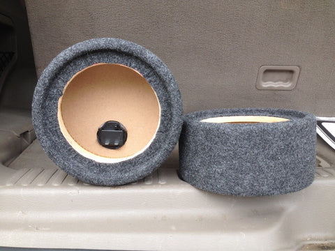 "6.5"" Speaker Box Enclosure 6 1/2"" Car Speaker 6"" Coaxial 5.125"" Inside Diameter"