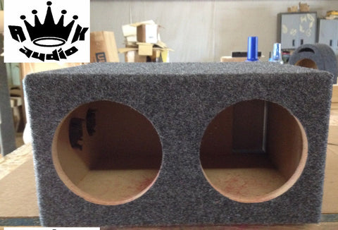 "6.5"" Subwoofer Box Enclosure 6 1/2"" DB Drive WDX6.5 3K Car Speaker Ported Sub Box"