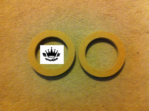 "6"" Speaker Spacers 6.5"" 6-1/2"" Fiberglass Rings 3/4"" MDF 5.125"" Hole Cutout"