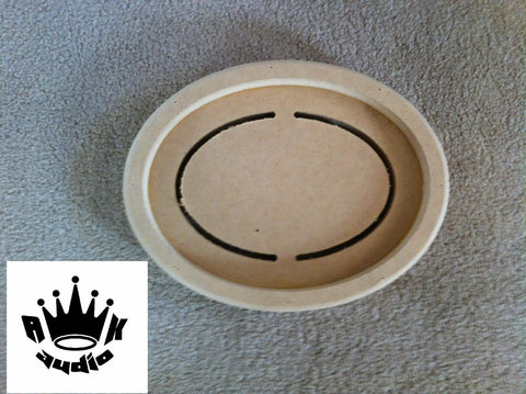 "6""x8"" 6x8 5x7 FIBERGLASS SPEAKER RING SUBWOOFER RING 3/4""MDF FIBERGLASS BOX RING"