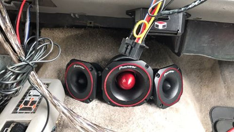 "Ian's Pioneer TS-B400 PRO & TS-B350 PRO 3.5"" and 4"" Tweeter Box"