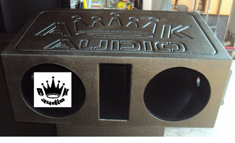 "AK Audio 8"" 10"" 12"" 15"" Ported Sprayed Speaker Box Sub Subwoofer Enclosure Box"