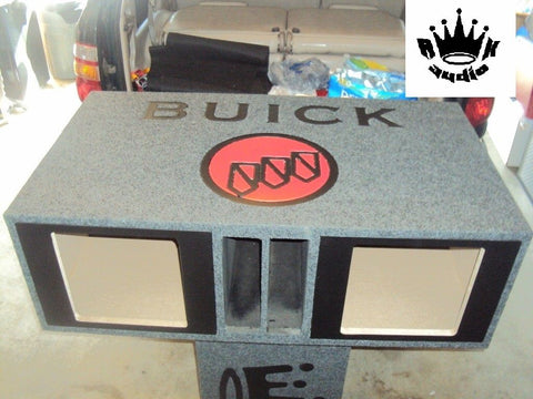 "Buick 1977-1985 12"" Kicker L7 Solobaric Speaker Box Sub Subwoofer Enclosure SUV"