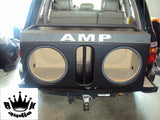 "Ford Expedition GMC Yukon Speaker Amp Rack Box Subwoofer Enclosure Sub 15"" Sub"