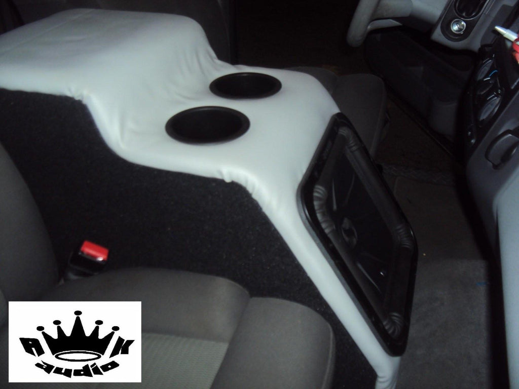 Ford F150 Extended Cab Console Replace Sub Subwoofer Box Enclosure Kic  U2013 Ak Audio