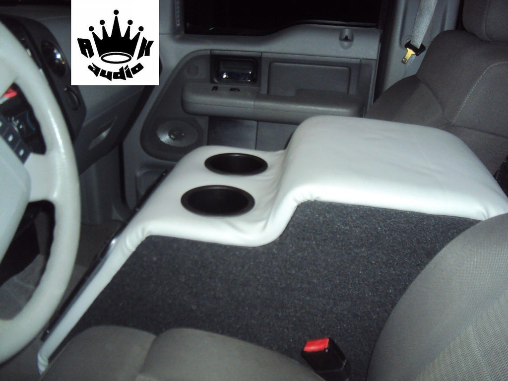 Ford F150 Extended Cab Console Replace Sub Subwoofer Box